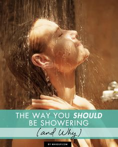 how to shower