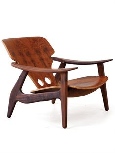 Sergio Rodrigues' Diz chair, designed in 2001, produced exclusively for R & Company.