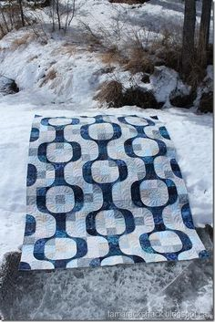 """""""Learn the rules like a pro, so you can break them like an artist.""""  Pablo Picasso  Mod Pop quilt by Tamarack Shack"""