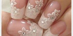 70 top bridal nails art designs for next year is part of Bride nails - 70 Top Bridal Nails Art Designs for next year Beautifulart Nailart