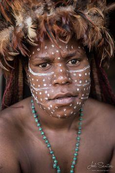 INDONESIA - JOEL SANTOS - Photography - Dani Tribe Woman, Baliem Valley, West Papua
