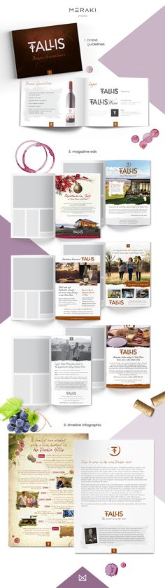 Tallis - branding & marketing collateral