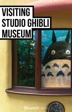 Photos and review of Studio Ghibli Museum in Japan.