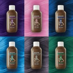 Semi-Permanent Treatment Color with Argan Oil. Apply on Pre-Lightened Hair for Vivid Results Pearl Blonde, Silver Blonde, Grey Ombre Hair, Touch Of Gray, Argan Oil, Hairstyles Haircuts, Electric Blue, Free Coloring, Rainbow Colors