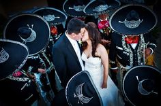 Bride & Groom + Mariachi. Maurice Ramirez. San Francisco, California Wedding Photographer. http://www.mauriceramirez.com