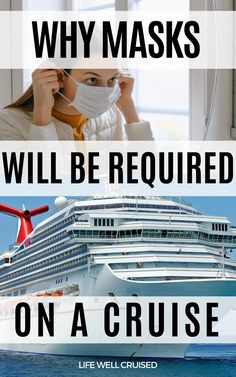 What you need to know about face masks on a cruise ship as they resume. #cruise #cruisetravel Best Cruise, Cruise Port, Cruise Travel, Cruise Vacation, Vacations, Packing List For Cruise, Cruise Tips, Caribbean Cruise, Royal Caribbean