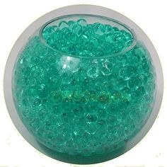 Gel Soil 10 Packs Teal Water Beads Bio Gel Aqua Gel Crystals Jelly Crystal Wedding Vase Decoration *** Check out this great product.Note:It is affiliate link to Amazon.