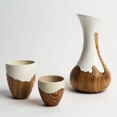 "Beautiful ""Contra Vessels"" by Bem Robinson. Beautiful ""Contra Vessels"" by Bem Robinson. Ceramic Pottery, Ceramic Art, Keramik Design, Deco Nature, Global Design, Design Competitions, Design Awards, Wood Design, Wood Turning"