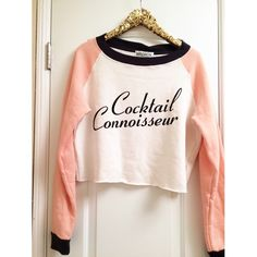 •WILDFOX• Cocktail Connoisseur New with tags Wildfox Tops Sweatshirts & Hoodies