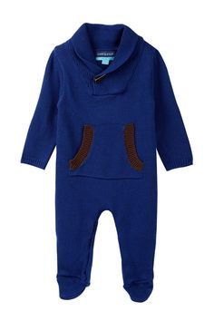 Toggle Sweater Romper (Baby Boys)