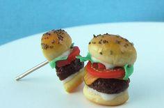 Roundup of burger jewelry designs