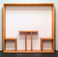 Quadro da pranzo (Oggetti in meno) (Lunch painting [Minus objects]), Michelangelo Pistoletto, 1965