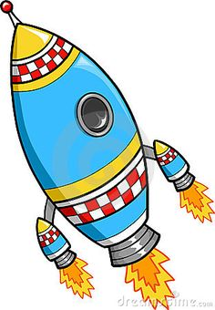 Rocket Vector Illustration Royalty Free Stock Photos - Image: 4042878