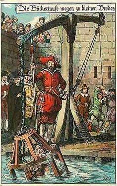 Bad Wives Bad Men Medieval Punishment Germany Nister #7 Antique Vintage Postcard