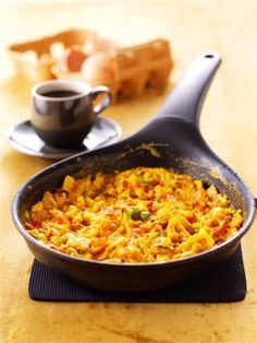 Mexican Scrambled Eggs Recipe by Nigella Lawson Mexican Scrambled Eggs Recipe, Mexican Eggs, Egg Recipes, Brunch Recipes, Mexican Food Recipes, Cooking Recipes, Breakfast Dishes, Breakfast Time, Breakfast Recipes
