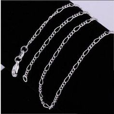 """Wholesale 5pcs Jewellery 2.3MM 18"""" 925 Solid Silver Chains Necklace For Women  #Unbranded #Chain"""