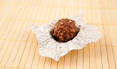 Jet maakte een taart van Nutella en Ferrero Rocher! Hmmm, lekker!