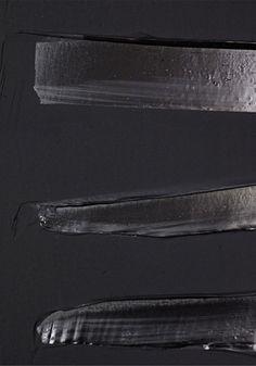 """Pierre Soulages """"Peinture, 202 x 159 cm, 19 octobre 2013"""", Acrylic on Canvas…"""