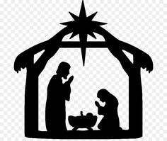 Silhouette Characters From A Christmas Carol View