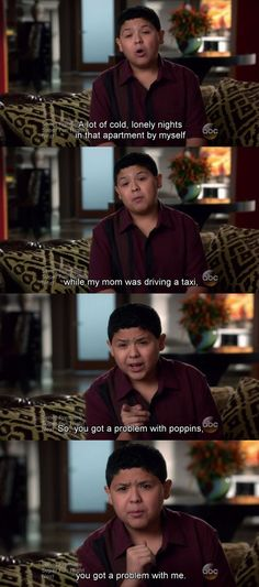 "He understands the glory that is Mary Poppins. | 19 Reasons Manny From ""Modern Family"" Should Be Your Role Model"