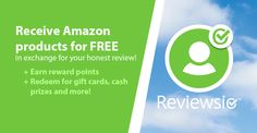 Account - Reviewsio enter my referral number and get extra points.....  https://reviewsio.com?mref=sara2788     also review products on amazon for free or for super cheap cant beat that...