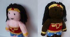 8 Amazing Wonder Woman-Inspired Knitting and Crochet Projects #LallaGatta via @LallaGatta