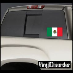 Mexico Flag Sticker Car Or Wall Vinyl Decal