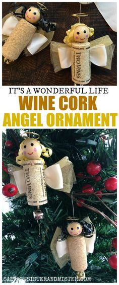 DIY Wine Cork Angel