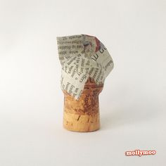 mollymoo.ie - Try it! Halloween Crafts – wine cork toys