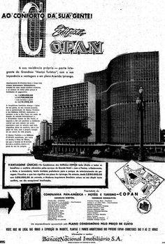 Anúncio antigo do Edifício Copan, ao conforto da sua gente