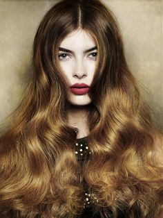 Beautiful and subtle fall or winter ombre by Angelo Seminara.