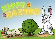 . Ferrets, Otters, Beagle, Art Drawings, Easter, Happy, Animals, Fictional Characters, Friends