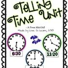 This freebie is designed to help you supplement teaching time to your students. This unit focuses on both digital and analog clocks and telling tim...
