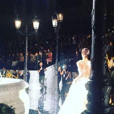 #pronovias #atelier new collection 2018 #barcelona #bridalwear #abitidasposa #museudartdecatalunya #HauteCoutureCollezioni @barcelonabridalweek @attilaco  via COLLEZIONI MAGAZINE OFFICIAL INSTAGRAM - Celebrity  Fashion  Haute Couture  Advertising  Culture  Beauty  Editorial Photography  Magazine Covers  Supermodels  Runway Models