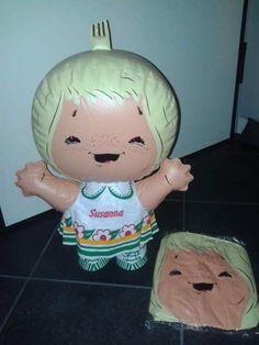 E per i collezionisti, un gadget gonfiabile #anni60 e 70: la bambola di Susanna Tutta Panna!