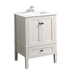 "Simpli Home Chelsea 24"" Single Bathroom Vanity Set"