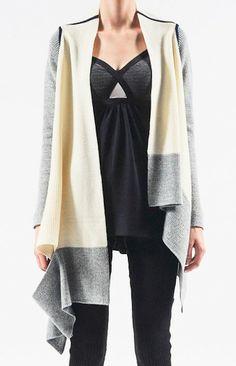 VPL blanket wrap cardigan