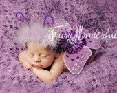 Small Lavender and Purple Wings.....Perfect for any of our tutus, Halloween, photo props, presents, dress up, and so much more
