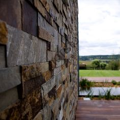 XLV Modern Rock Panels - Norstone Stacked Stone Cladding