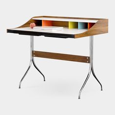 Nelson Swag Leg Desk George Nelson, 1958 I love this desk, but not for the $2,168.00 it costs.