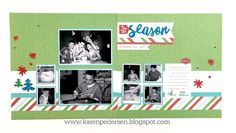 Karen Pedersen: December Play Group Scrappin' and Card Makin' Classes and Kits (City Sidewalks)