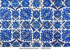Geometric Ottoman Pattern. Istanbul, Turkey