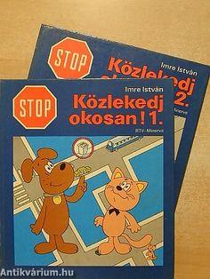 Imre István - Stop! Közlekedj okosan! - kressz, cica, kutya, 80-as évek