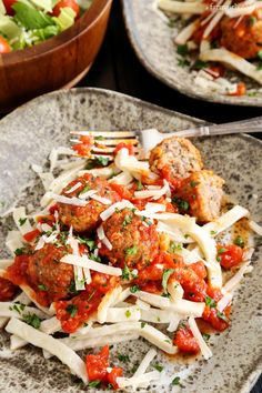 This recipe for Spicy Italian Sausage Meatballs over Egg Noodles is comfort through and through, homemade goodness at its best. 'Tis the season. Christmas just a few days away, but I'm talking more a Italian Dishes, Italian Recipes, Beef Recipes, Cooking Recipes, What's Cooking, Stuffed Pepper Soup, Stuffed Peppers, Fresco, Sausages