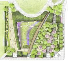 Lurie Garden by Gustafson Guthrie Nichol & Piet Oudolf