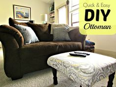 Been searching and searching for the perfect ottoman.  HERE is the solution!
