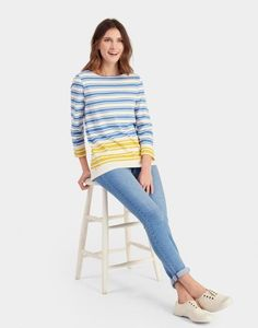 HARBOUR BLOCK Jersey Top