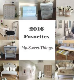 Another year is about to finish, and I want to share with you my 2016 favorite projects. I really enjoyed doing all of them!