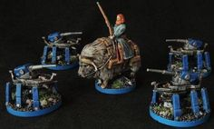 Four Realms Of Chaos -Canadian Miniature Painting - Board Games