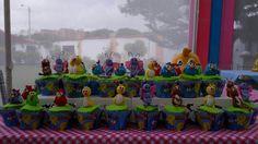 Cupcakes gallinita pintadita